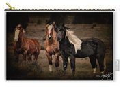 Horses 40 Carry-all Pouch