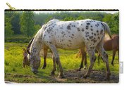 Horses And Buttercups Carry-all Pouch