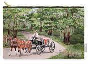Horses And Wagon Carry-all Pouch
