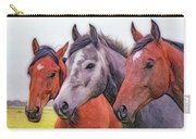 Horses - Id 16217-202746-6154 Carry-all Pouch