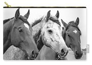 Horses - Id 16217-202749-4749 Carry-all Pouch