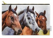 Horses - Id 16217-202754-0357 Carry-all Pouch