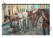 Horses In Florence Carry-all Pouch