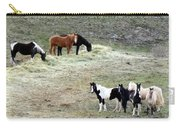 Horses In The Highlands Carry-all Pouch