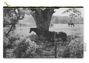 Horses In The Pasture Carry-all Pouch