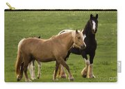 Horses Photography Carry-all Pouch