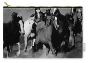 Horses Stampede 01 Carry-all Pouch