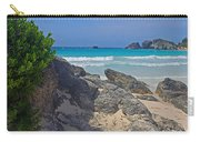 Horseshoe Beach And Sea Grass Carry-all Pouch