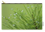 Horsetail With Dew Carry-all Pouch