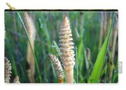 Horsetails And Dew Drops Carry-all Pouch