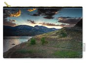 Horsetooth Reservior At Sunset Carry-all Pouch