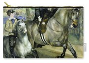 Horsewoman In The Bois De Boulogne Carry-all Pouch