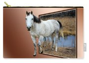 Horsing Around Carry-all Pouch by Shane Bechler