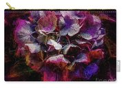 Colorful Hortensia Closeup Carry-all Pouch