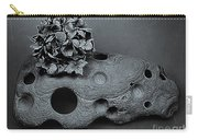Hortensia Stone Circle Of Life Bw Carry-all Pouch