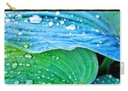 Hosta After The Rain Carry-all Pouch