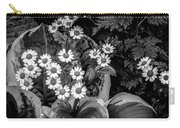 Hosta Daisies Carry-all Pouch