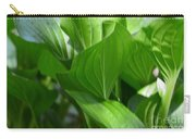 Hosta Waves Carry-all Pouch