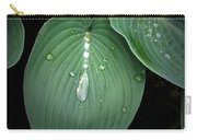 Hostas After The Rain Carry-all Pouch