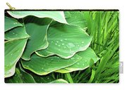 Hostas And Grass Carry-all Pouch