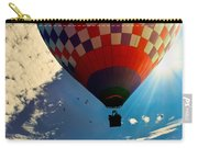 Hot Air Balloon Eclipsing The Sun Carry-all Pouch