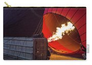 Hot Air Balloon. Inflation. Carry-all Pouch