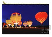 Hot Air Balloon Night Glow Carry-all Pouch