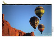 Hot Air Balloon Monument Valley 5 Carry-all Pouch