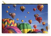 Beautiful Balloons On Blue Sky Carry-all Pouch