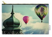 Hot Air Balloons Float Over Lewiston Maine Carry-all Pouch