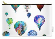 Hot Air Balloons Carry-all Pouch by Michael Colgate
