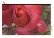 Hot Cocoa Rose Carry-all Pouch