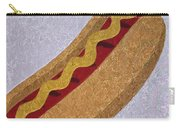 Hot Dog Emoji Carry-all Pouch