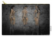 Hot Girls In Black Carry-all Pouch