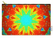 Hot Kaleidoscope Flower Carry-all Pouch