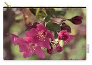 Hot Pink Blossoms Carry-all Pouch