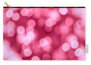 Hot Pink Bokeh Carry-all Pouch