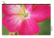 Hot Pink Geranium On A Brilliant Summer Day Carry-all Pouch