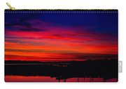 Hot Pink Sunset Carry-all Pouch