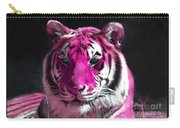 Hot Pink Tiger Carry-all Pouch