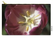 Hot Pink Tulip Center Squared Carry-all Pouch