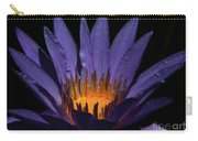 Hot Purple Water Lily Carry-all Pouch