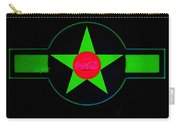 Hot Red On Cool Green Carry-all Pouch