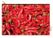 Hot Red Peppers In The Summer Sun Carry-all Pouch