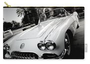 Hot Rod Black And White Carry-all Pouch