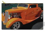 Hot Rod Orange Carry-all Pouch