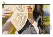 Hot Woman Carry-all Pouch by Jorgo Photography - Wall Art Gallery