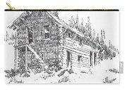 Hotel Red Lion Ghost Town Montana Carry-all Pouch