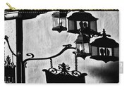 Hotel Sign - Reality And Shadow Carry-all Pouch