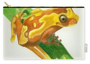 Hourglass Frog Carry-all Pouch